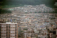 So. Korea: Pusan--High rises and houses. Photo '81.