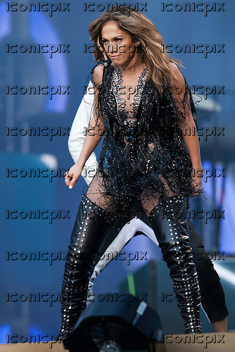 Jennifer Lopez - performing live at the Sound of Change Live cocnert held at Twickenham Stadium in Surrey UK - 01 Jun 2013.  Photo credit: John Rahim/Music Pics Ltd/IconicPix