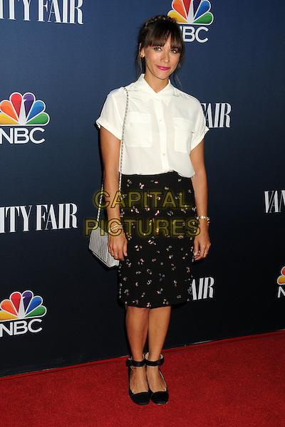 16 September 2014 - West Hollywood, California - Rashida Jones. NBC and Vanity Fair 2014-2015 TV Season Event held at Hyde Sunset Kitchen.  <br /> CAP/ADM/BP<br /> &copy;Byron Purvis/AdMedia/Capital Pictures