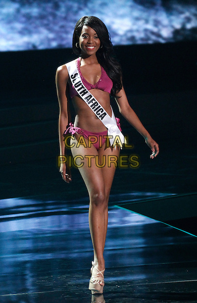 16 December 2015 - Las Vegas, Nevada -  Miss South Africa, Refilwe Mthimunye. 2015 Miss Universe Preliminary Competition at Axis at Planet Hollywood Resort and Casino. <br /> CAP/ADM/MJT<br /> &copy; MJT/AdMedia/Capital Pictures