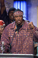 Master P accepts his award at The Source Hip-Hop Music Awards 2001 at the Jackie Gleason Theater in Miami Beach, Florida.  8/20/01  Photo by Scott Gries/ImageDirect