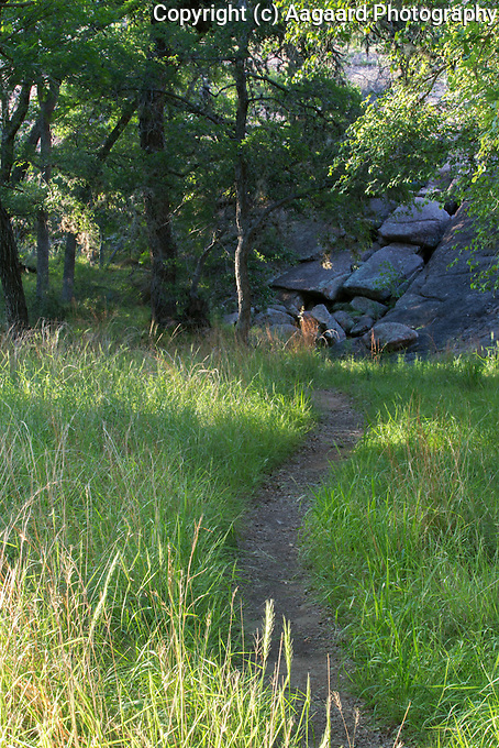 Hiking trail, Enchanted Rock State natural Area