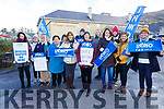 INMO Nurses from St Annes Hospital Cahersiveen picket on Wednesday.