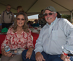 Gerri and Ron Brooks during the Basque Fry at the Corley Ranch  in Gardnerville, Nevada on Saturday, August 26, 2017.