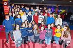 The Ballymac Youth Club enjoying the evening in Bowling Buddies on Friday night.