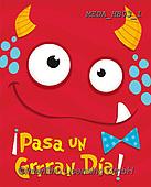 Dreams, CHILDREN BOOKS, BIRTHDAY, GEBURTSTAG, CUMPLEAÑOS, paintings+++++,MEDAHB03/1,#BI#, EVERYDAY ,monster