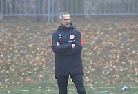 Trainer Adi Hütter (Eintracht Frankfurt) - 14.11.2018: Eintracht Frankfurt Training, Commerzbank Arena, DISCLAIMER: DFL regulations prohibit any use of photographs as image sequences and/or quasi-video.