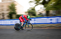 Johannes Staute-Mittet (NOR)<br /> Men Junior Individual Time Trial<br /> <br /> 2019 Road World Championships Yorkshire (GBR)<br /> <br /> ©kramon