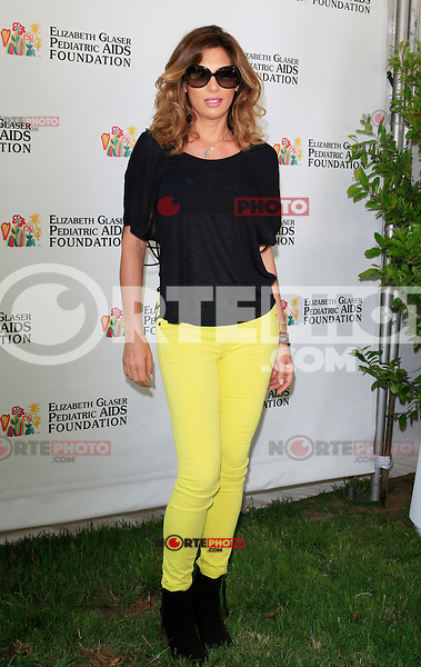 """Daisy Fuentes attending the 23rd Annual """"A Time for Heroes"""" Celebrity Picnic Benefitting the Elizabeth Glaser Pediatric AIDS Foundation. Los Angeles, California on 3.6.2012..Credit: Martin Smith/face to face /MediaPunch Inc. ***FOR USA ONLY***"""