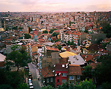 TURKEY, Istanbul, elevated view of Beyoglu District