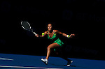 23 Jan 2009, Melbourne, Australia --- Serbia's Jelena Jankovic in action wearing her new Anta's clothes during the Australian Open Tennis Grand Slam January 23, 2009 in Melbourne. Photo by Victor Fraile --- Image by © Victor Fraile