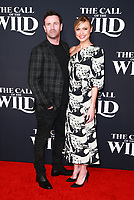 HOLLYWOOD, CA - FEBRUARY 13; Adam Fergus and Hayley Erin at The Call Of The Wild World Premiere on February 13, 2020 at El Capitan Theater in Hollywood, California. Credit: Tony Forte/MediaPunch