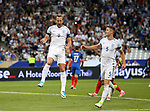 England's Harry Kane celebrates scoring his sides second goal during the Friendly match at Stade De France Stadium, Paris Picture date 13th June 2017. Picture credit should read: David Klein/Sportimage