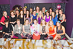 Neala Dempsey, Meanus, Bruff, Co Limerick, pictured with her hens during her hen party in the Silverfox Restaurant, Killarney on Saturday night.