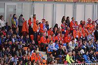 OLYMPICS: SOCHI: Adler Arena, 09-02-2014, 3000 m Ladies, Dutch fans, ©foto Martin de Jong