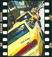 "Yellow Cab Rank in Florida. Title: ""Yellow sprocket Cab Rank"""