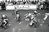 Wheelchair race, Robin Hood marathon, Nottingham UK 1987