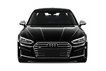 Car photography straight front view of a 2018 Audi S5 Premium-Plus 2 Door Coupe Front View