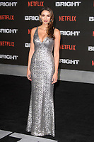 """Nadia Gray<br /> arriving for the """"Bright"""" European premiere at the BFI South Bank, London<br /> <br /> <br /> ©Ash Knotek  D3364  15/12/2017"""