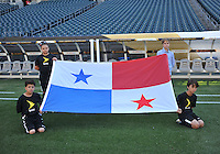 Philadelphia, PA - Tuesday June 14, 2016: Panama flag prior to a Copa America Centenario Group D match between Chile (CHI) and Panama (PAN) at Lincoln Financial Field.