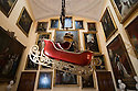 06/11/15<br /> <br /> Toad is  hoisted above the stairwell in 'Toad Hall'.<br /> <br /> Inspired by The Wind in The Willows,  this year's Christmas attraction 'Christmas at Chatsworth with Mr Toad' is unveiled today ahead of its official opening tomorrow (Saturday) at Chatsworth House in The Derbyshire Peak District.<br /> <br /> All Rights Reserved: F Stop Press Ltd. +44(0)1335 418365   +44 (0)7765 242650 www.fstoppress.com