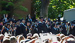 Graduates celebrate during the University of Nevada College of Liberal Arts and Donald W. Reynolds School of Journalism graduation ceremony on Saturday morning, May 20, 2017.
