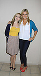 """General Hospital's Kelly  Sullivan """"Kate"""" (R) and Jen Lilley """"ex-Maxie"""" at Uncle Vinnie's Comedy Club on September 9, 2012 in Pt. Pleasant, New Jersey to see their fans for autographs, meet/greet and photos.  (Photo by Sue Coflin/Max Photos)"""