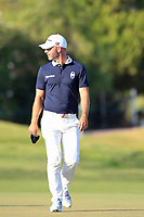 Paul Waring (ENG) on the 8th during the 1st round of the 2017 Portugal Masters, Dom Pedro Victoria Golf Course, Vilamoura, Portugal. 21/09/2017<br />