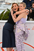 """CANNES, FRANCE. May 17, 2019: Judith Godreche & Gayle Rankin at the photocall for the """"The Climb"""" at the 72nd Festival de Cannes.<br /> Picture: Paul Smith / Featureflash"""
