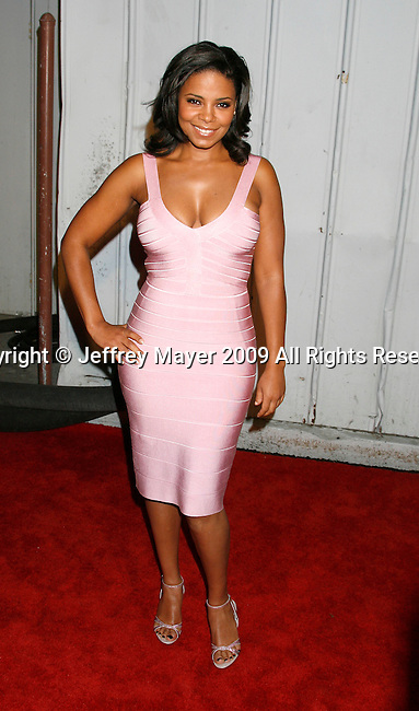 SANTA MONICA, CA. - May 13: Sanaa Lathan arrives at the Maxim's 10th Annual Hot 100 Celebration at The Barker Hangar on May 13, 2009 in Santa Monica, California.