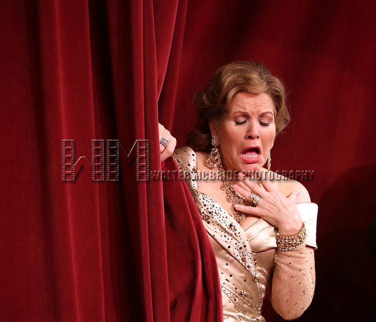 Renee Fleming during the Broadway Opening Night Performance Curtain Call for 'Living on Love' at The Longacre Theatre on April 20, 2015 in New York City.