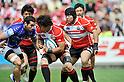 (L to R) Takashi Kikutani (JPN), Kensuke Hatakeyama (JPN),.JUNE 17, 2012 - Rugby : IRB Pacific Nations Cup 2012 match between Japan 26-27 Samoa at Chichibunomiya Rugby Stadium, Tokyo, Japan. (Photo by Jun Tsukida/AFLO SPORT) [0003]