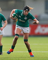 9th February 2020; Energia Park, Dublin, Leinster, Ireland; International Womens Rugby, Six Nations, Ireland versus Wales; Aoife McDermott of Ireland with the ball