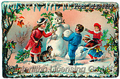 Isabella, CHRISTMAS SANTA, SNOWMAN, WEIHNACHTSMÄNNER, SCHNEEMÄNNER, PAPÁ NOEL, MUÑECOS DE NIEVE, nostalgic, paintings+++++,ITKEK2308627,#X#