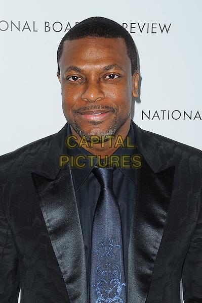 Chris Tucker.National Board of Review Awards 2013, New York, New York, USA..January 8th, 2013.headshot portrait black blue suit tie facial hair  stubble .CAP/ADM/MSA.©Mario Santoro /AdMedia/Capital Pictures.