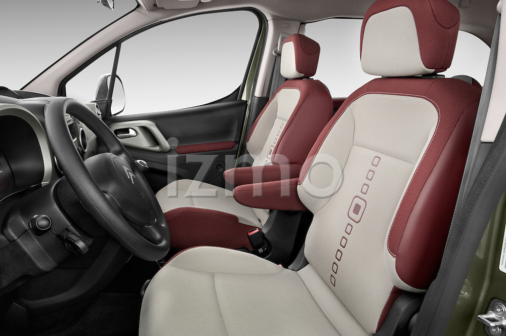 Front seat view of a 2008 - 2014 Citroen BERLINGO Multispace 5-Door Mini Mpv 2WD