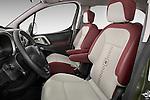 Front seat view of a 2008 - 2014 Citroen BERLINGO Multispace 5-Door Mini Mpv 2WD