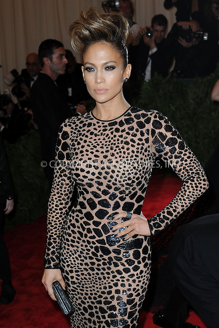 WWW.ACEPIXS.COM . . . . . .May 6, 2013...New York City.....Jennifer Lopez attending the PUNK: Chaos to Couture Costume Institute Benefit Gala at The Metropolitan Museum of Art in New York City on May 6, 2013  in New York City ....Please byline: Kristin Callahan...ACEPIXS.COM...Ace Pictures, Inc: ..tel: (212) 243 8787 or (646) 769 0430..e-mail: info@acepixs.com..web: http://www.acepixs.com .