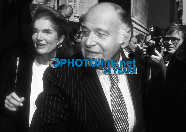 Jacqueline Kennedy Maurice Templesman 1991<br /> Photo By Adam Scull/PHOTOlink.net