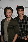 ATWT - Van Hansis and Jake Silberman at the 22nd Annual Broadway Flea Market & Grand Auction to benefit Broadway Cares/Equity Fights Aids on Sunday, September 21, 2008 in Shubert Alley, New York City, New York. (Photo by Sue Coflin/Max Photos)