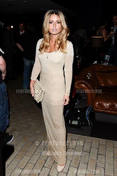 Sarah Barrand arrives for the Malmaison Hotel Liverpool re-opening party...23/09/2011  Picture by Steve Vas/Featureflash
