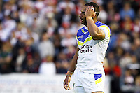 PICTURE BY ALEX WHITEHEAD/SWPIX.COM - Rugby League - Super League Play-Off - Warrington Wolves vs St Helens - The Halliwell Jones Stadium, Warrington, England - 15/09/12 - Warrington's Ryan Atkins.