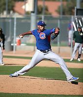 Daury Torrez - Chicago Cubs 2016 spring training (Bill Mitchell)