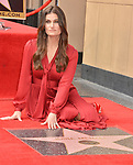 Irina Menzel -Star WofF 025 ,  Kristen Bell And Idina Menzel  Honored With Stars On The Hollywood Walk Of Fame on November 19, 2019 in Hollywood, California