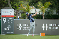 Justin harding (RSA) during the 3rd round of the AfrAsia Bank Mauritius Open, Four Seasons Golf Club Mauritius at Anahita, Beau Champ, Mauritius. 01/12/2018<br /> Picture: Golffile | Mark Sampson<br /> <br /> <br /> All photo usage must carry mandatory copyright credit (© Golffile | Mark Sampson)