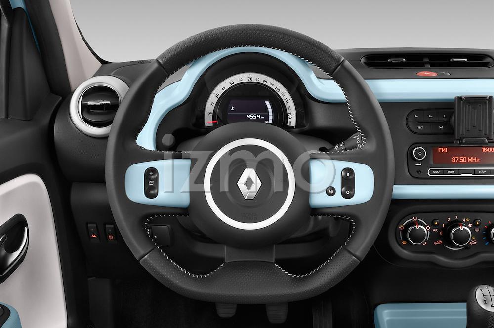 Car pictures of steering wheel view of a 2015 Renault Twingo Intens 5 Door Hatchback 2WD Steering Wheel