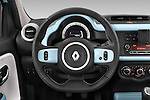 Car pictures of steering wheel view of a 2015 Renault Twingo Intens 5 Door Hatchback 2WD Steering Wheel