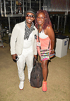 LOS ANGELES, CA -JULY 23: Rapper Kwame and Gramma Funk attend the 1st Annual Los Angeles Soul Music Festival at the Autry in Griffith Park on July 23, 2016 in Los  Angeles, California. Credit: Koi Sojer/Snap'N U Photos/MediaPunch