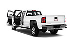 Car images close up view of a 2017 GMC Sierra 3500HD Double 4WD Cab Long Box 4 Door Pick Up doors