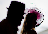 BALTIMORE, MD - MAY 19: Fans stay inside to avoid the heat on Black-Eyed Susan Day at Pimlico Race Course on May 19, 2017 in Baltimore, Maryland.(Photo by Scott Serio/Eclipse Sportswire/Getty Images)